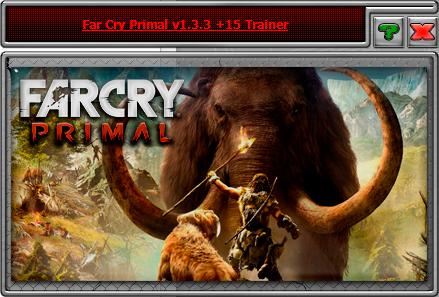 Far Cry Primal — трейнер для версии 1.3.3 (+15) iNvIcTUs oRCuS