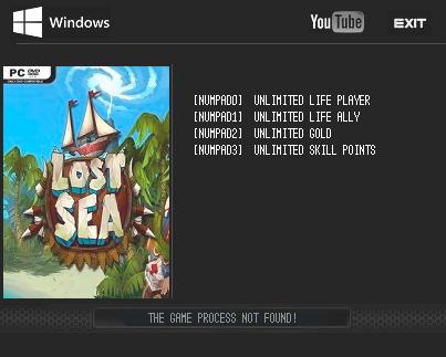 Lost Sea — трейнер для версии 1.0 (+4) LIRW