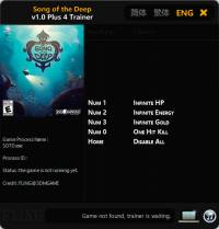 Song of the Deep — трейнер для версии 1.0 (+4) FLiNG