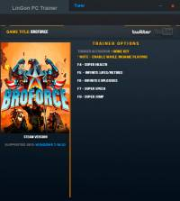 Broforce — трейнер для версии от 07.07.2016 (+5) LinGon