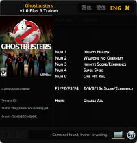 Ghostbusters — трейнер для версии 1.0 (+6) FliNG