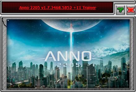 Anno 2205 — трейнер для версии 1.7.3468.5852 (+11) iNvIcTUs oRCuS