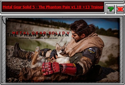 Metal Gear Solid V: The Phantom Pain — трейнер для версии 1.10 (+13) iNvIcTUs oRCuS