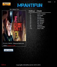 We Happy Few — трейнер для версии 44631 (+9) MrAntiFun [64-bit]