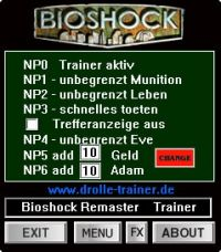 BioShock Remastered — трейнер для версии 1.0.122283 (+7) dR.oLLe