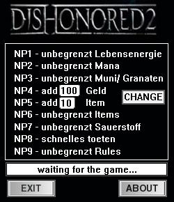 скачать трейнер для Dishonored 2 - фото 10