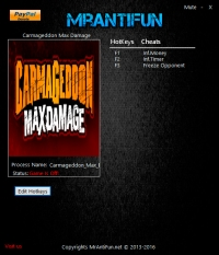 Carmageddon: Max Damage — трейнер для версии 1.0.0.9853 (+3) MrAntiFun