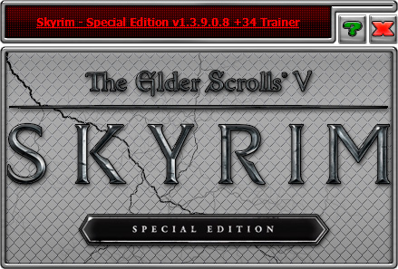 The Elder Scrolls 5: Skyrim Special Edition — трейнер для версии 1.3.9.0.8 (+34) iNvIcTUs oRCuS