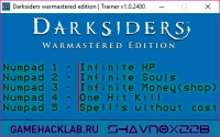 Darksiders: Warmastered Edition — трейнер для версии 1.0.2400 (+5) Shan0x228
