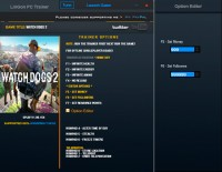 Watch Dogs 2 — трейнер для версии 1.09.154 (+12) LinGon
