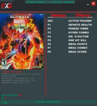 Ultimate Marvel vs. Capcom 3 — трейнер для версии 1.0 (+8) FutureX