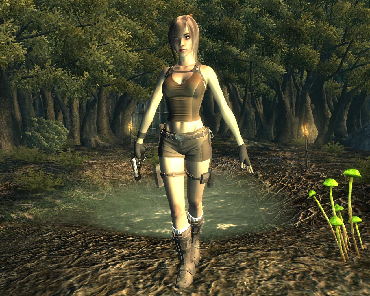 Fallout 3 naked babes mod pron video