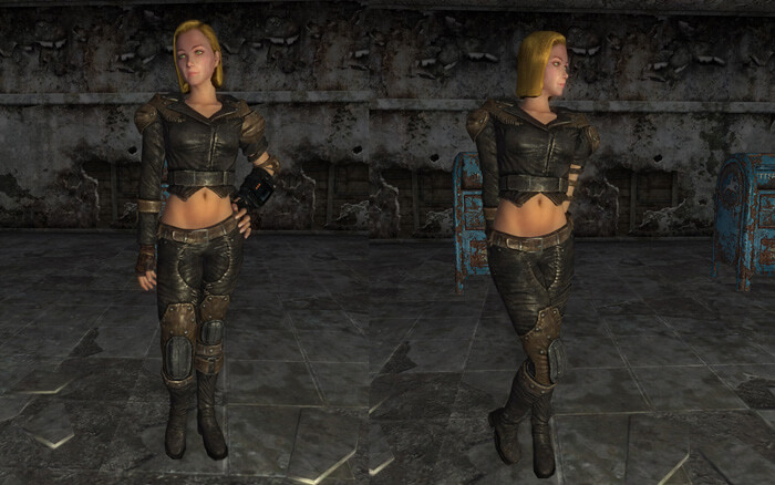 Type V Female Body and Armor Replacer