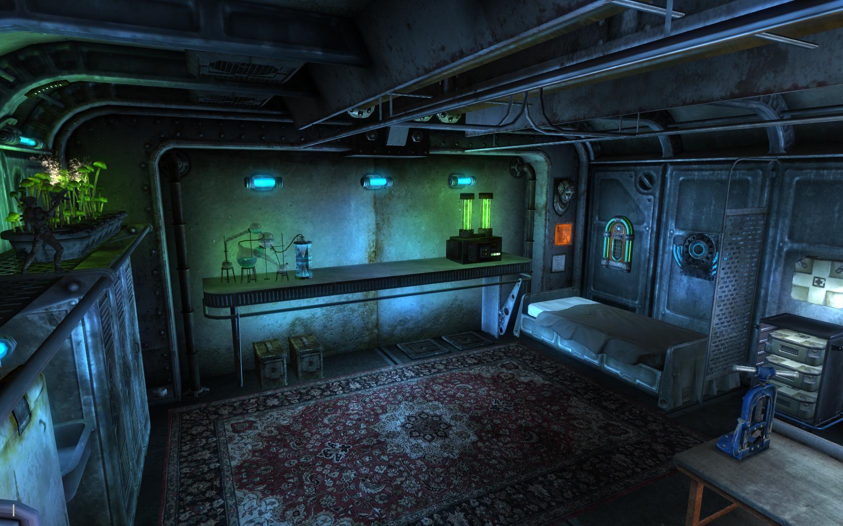 фоллаут 3 тайная комната