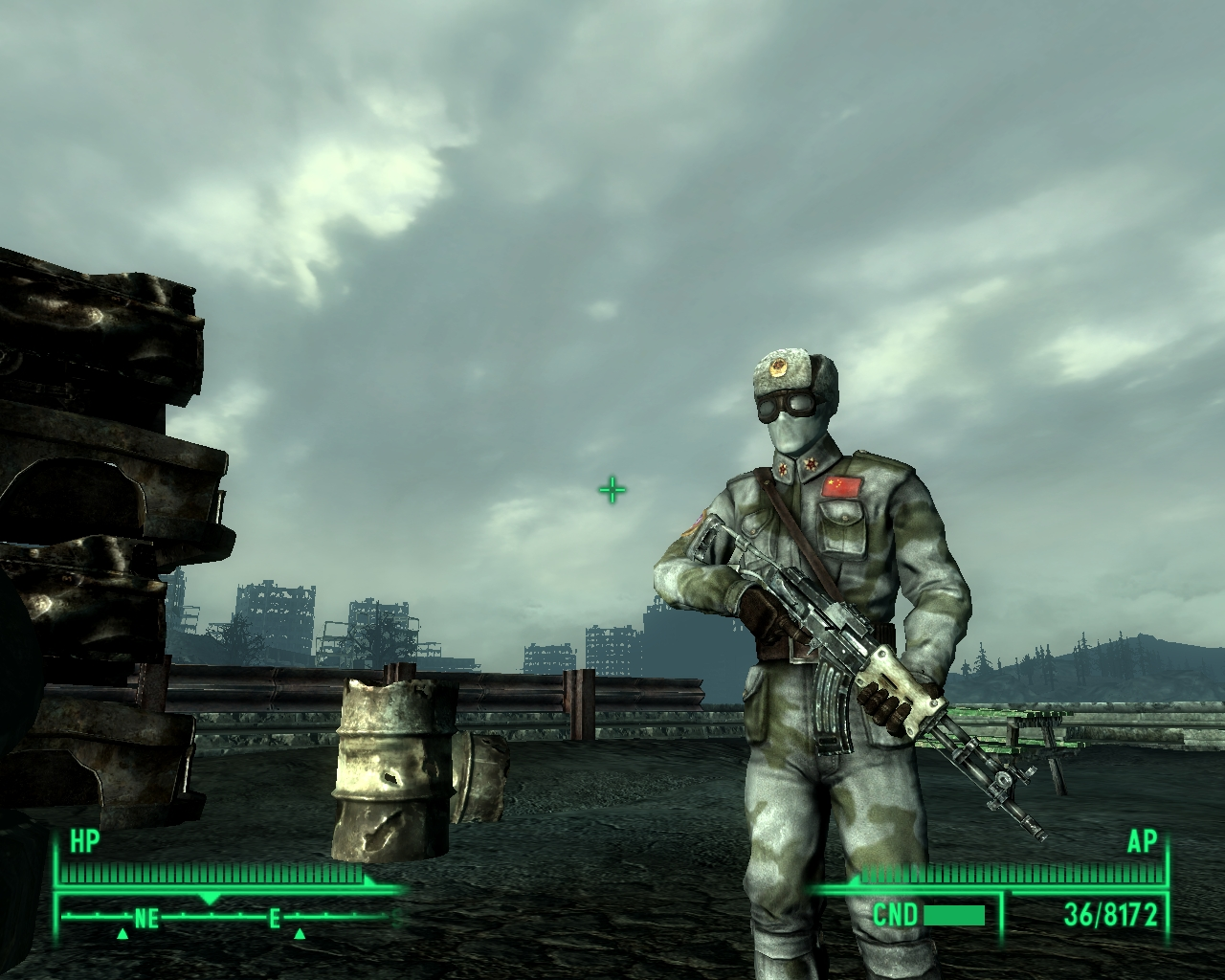 Fallout 3 - Winterized Chinese Jumpsuit - Console fix