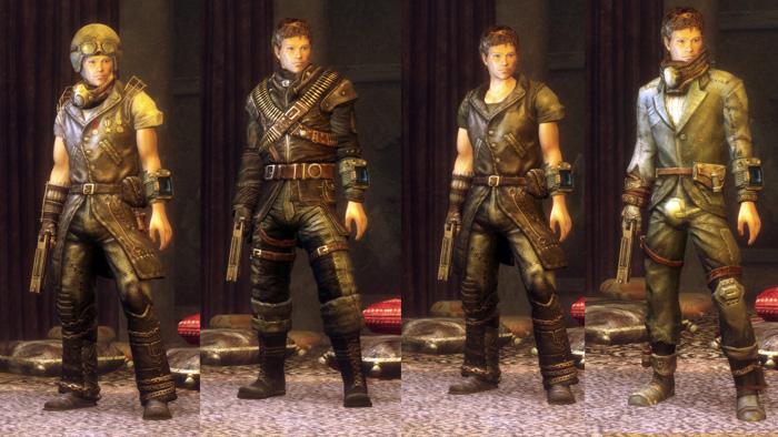 Fallout 3 New Vegas Hd Ретекстур Одежды Пустошей