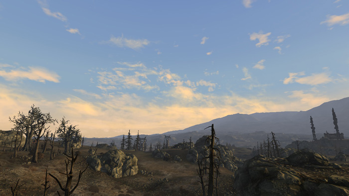 Fallout 3 Realistic Wasteland Lighting
