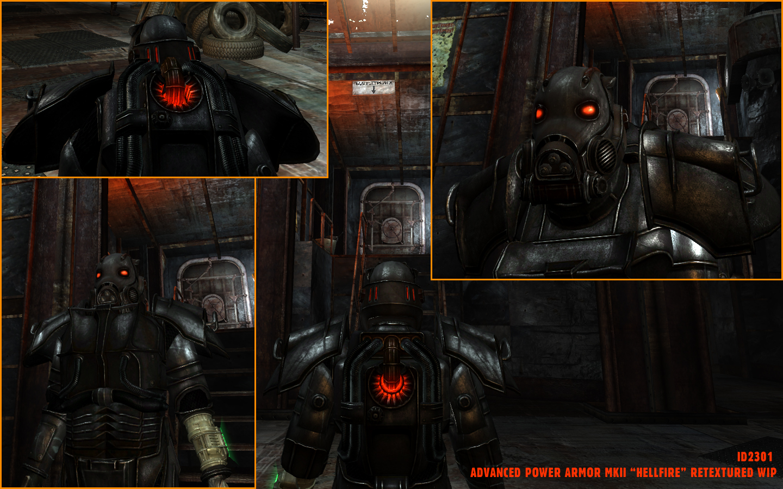 Ретекстур силовой брони fallout 3