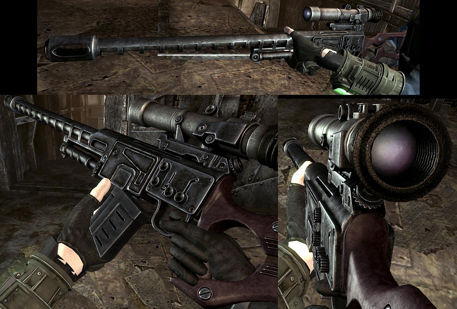Скачать Fallout 3 Mod Weapon