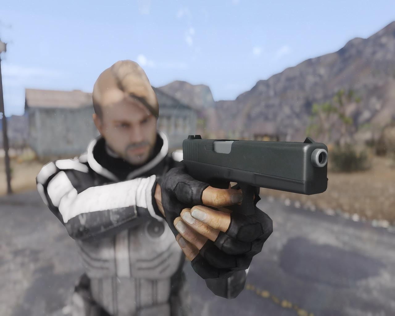 Glock 17 для Fallout New Vegas для Fallout: New Vegas - Скриншот 3