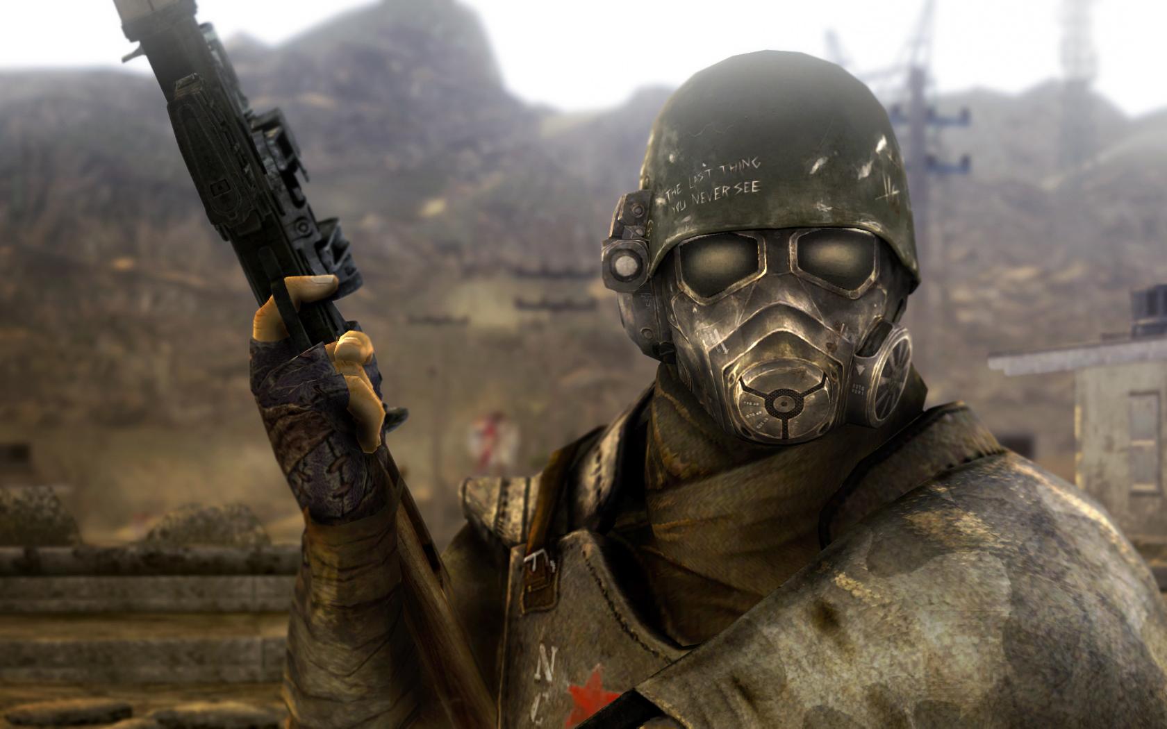 TFH 1st Recon Helmet для Fallout New Vegas для Fallout: New Vegas - Скриншот 3