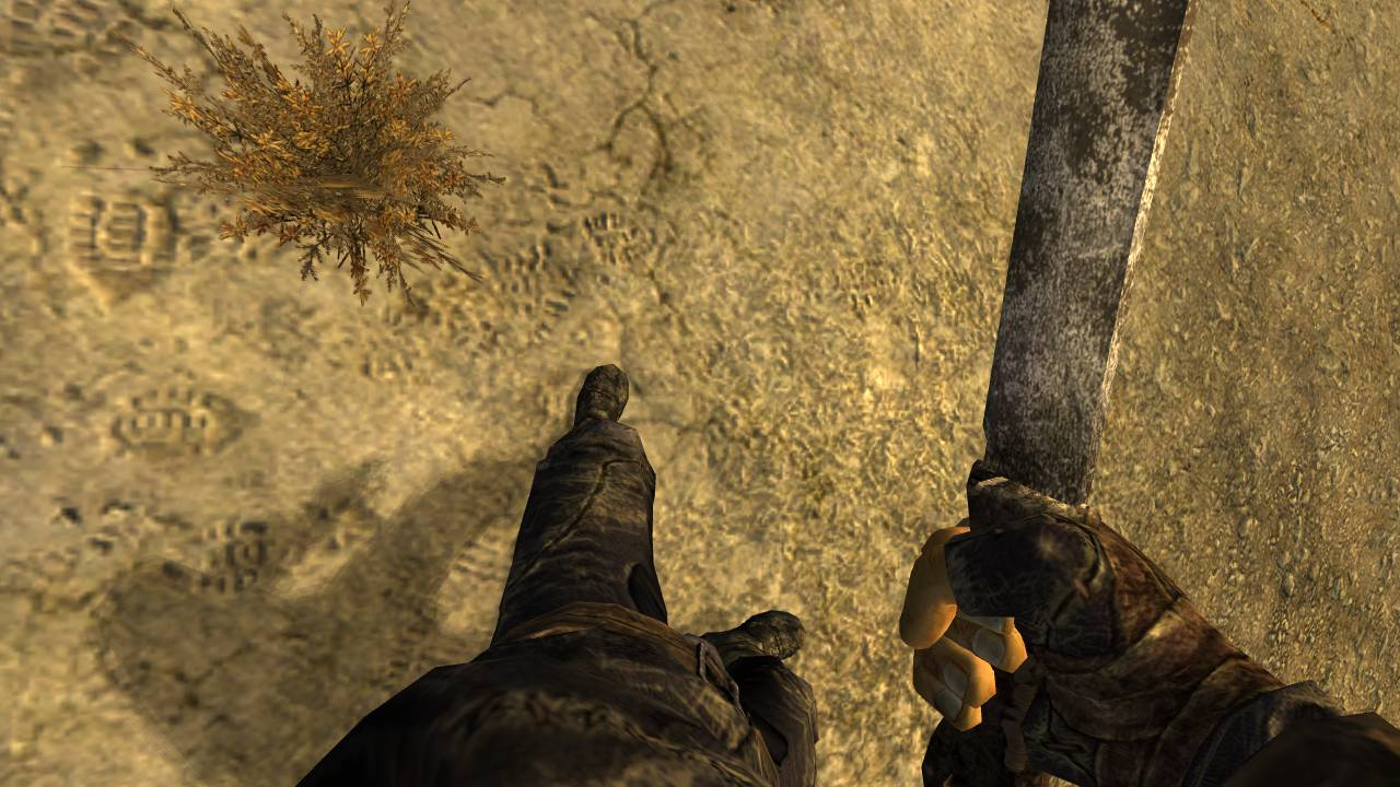 New Vegas - Enhanced Camera для Fallout New Vegas для Fallout: New Vegas - Скриншот 3