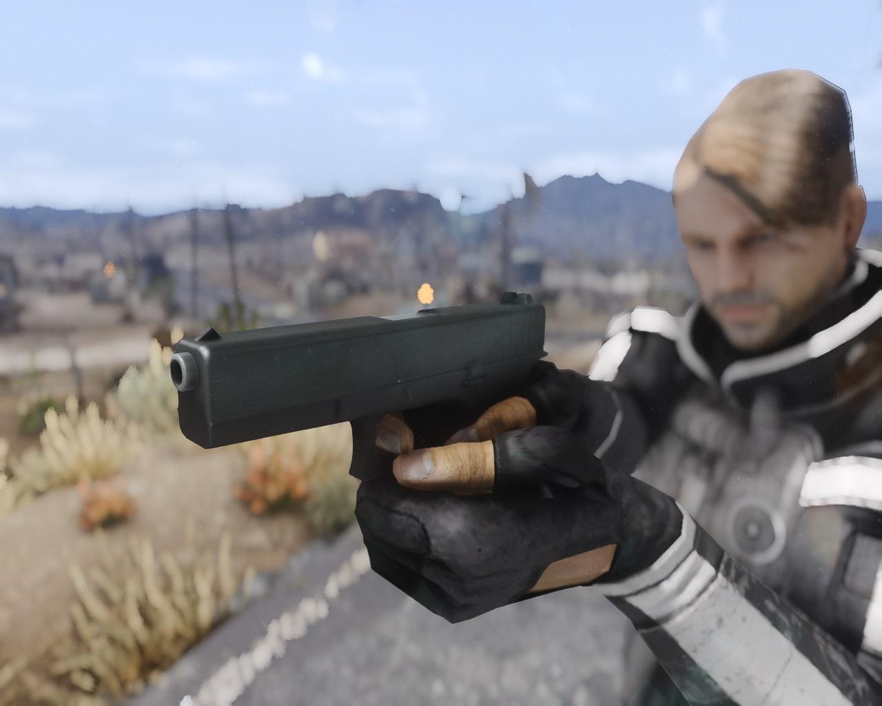 Glock 17 для Fallout New Vegas для Fallout: New Vegas - Скриншот 2