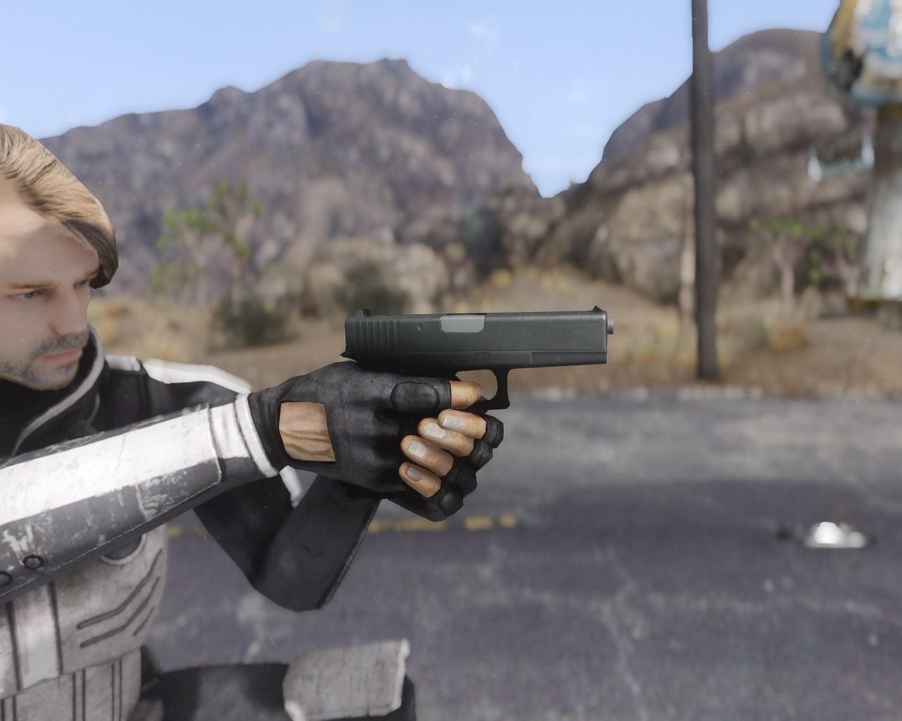 Glock 17 для Fallout New Vegas для Fallout: New Vegas - Скриншот 1