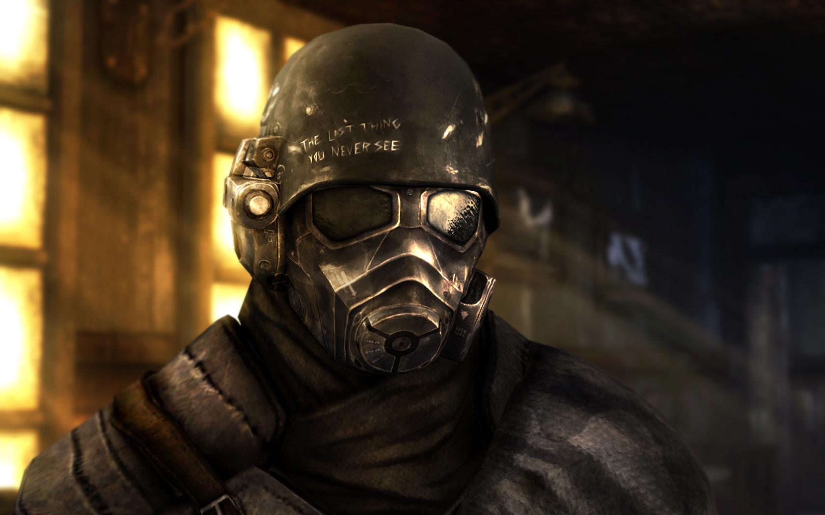 TFH 1st Recon Helmet для Fallout New Vegas для Fallout: New Vegas - Скриншот 1