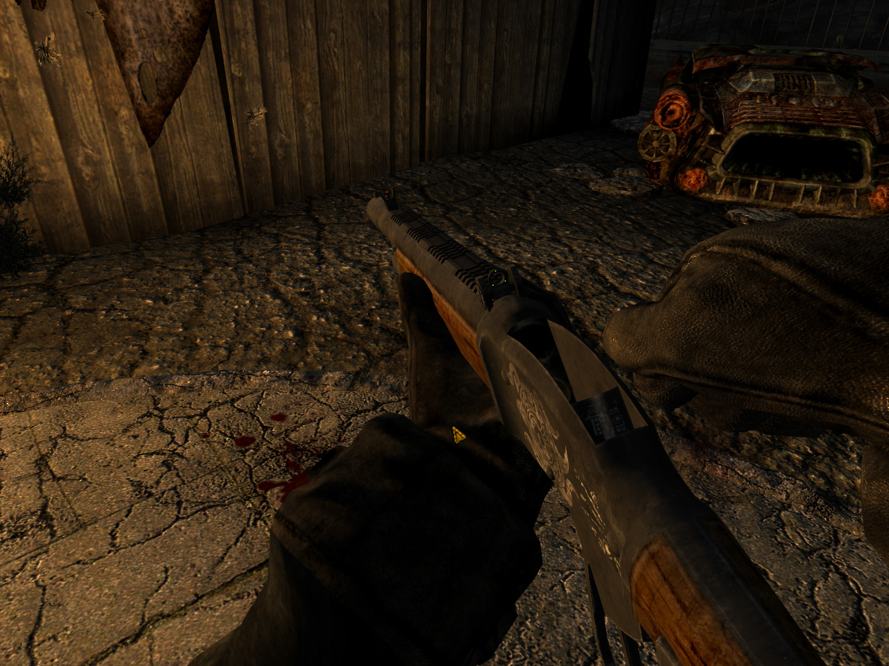 """Уникальный дробовик """"Шибальба"""" для Fallout New Vegas для Fallout: New Vegas - Скриншот 1"""