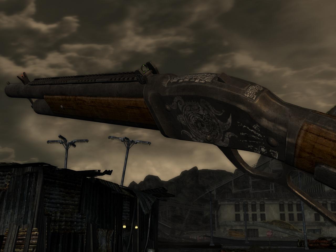 """Уникальный дробовик """"Шибальба"""" для Fallout New Vegas для Fallout: New Vegas - Скриншот 2"""