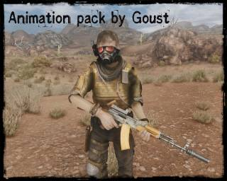 Animation pack by Goust
