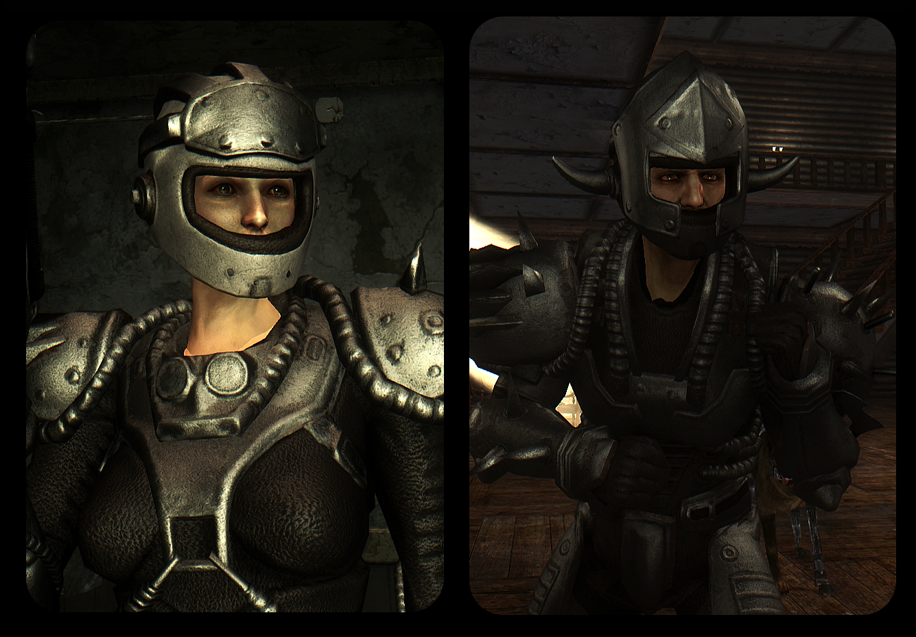 2K Metal Armor Re-textures