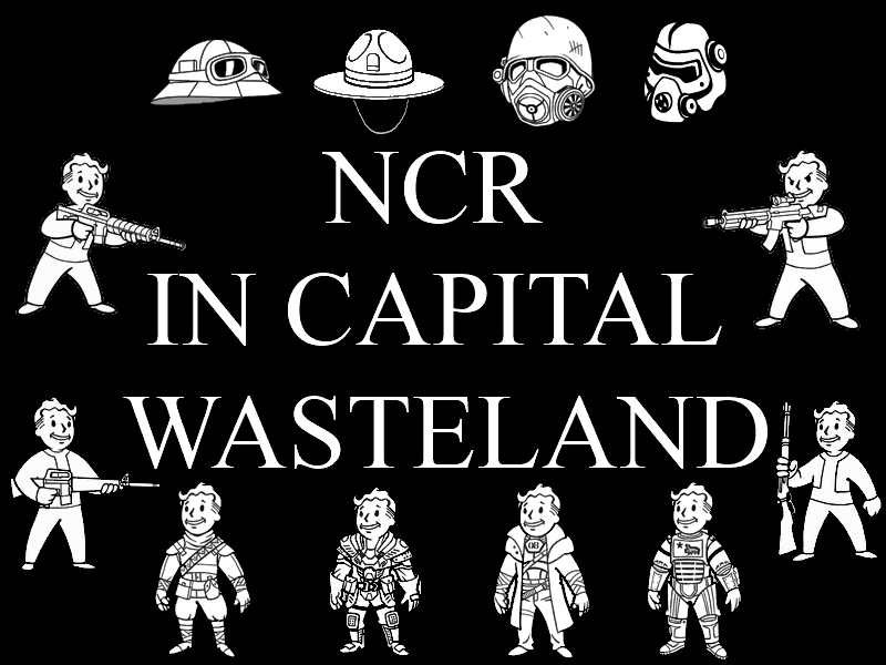 NCR in Capital wasteland - НКР в Столичной Пустоши