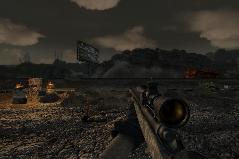 """Винтовка """"Remmington 700"""" для Fallout New Vegas для Fallout: New Vegas - Скриншот 2"""