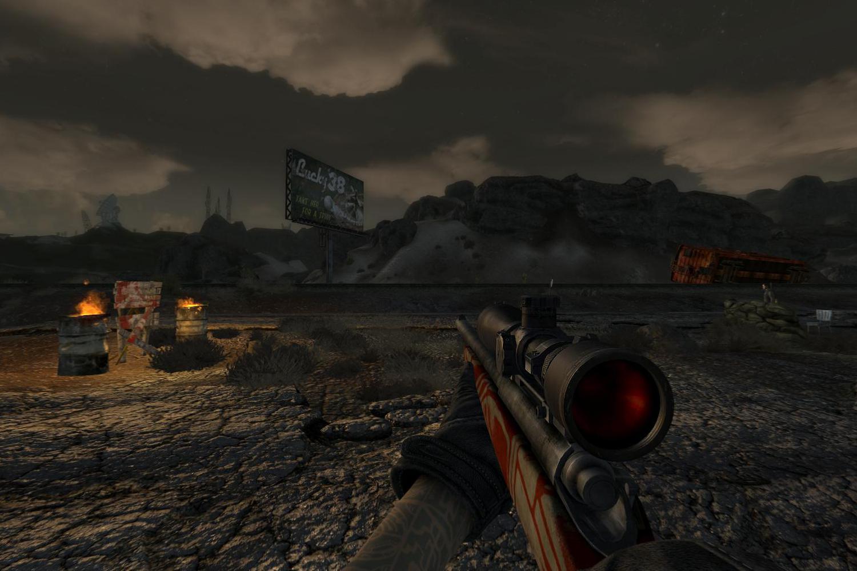 """Винтовка """"Remmington 700"""" для Fallout New Vegas для Fallout: New Vegas - Скриншот 3"""