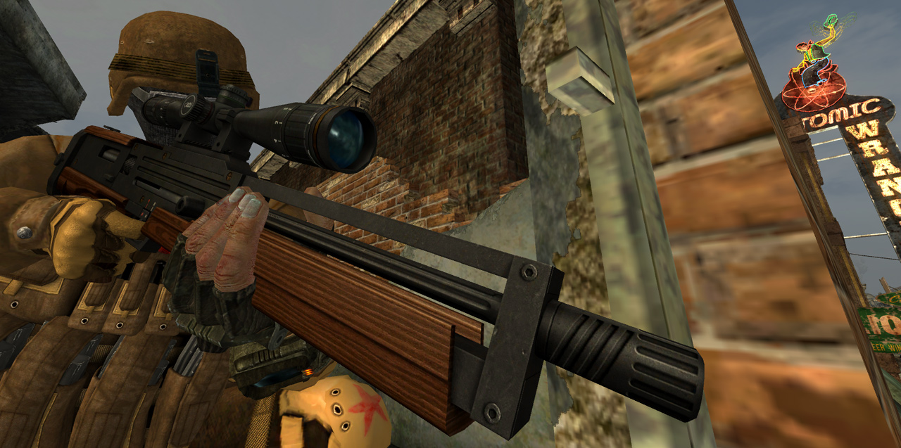 Weapon Mods Expanded - WMX/WMXUE для Fallout New Vegas — Моды