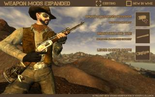 Мод Weapon Mods Expanded Для Fallout New Vegas Скачать