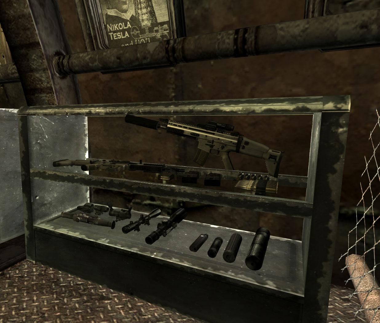fallout 3 excalibr munitions shop