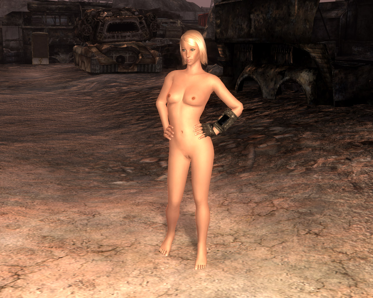 Fallout nude body replacer porncraft video