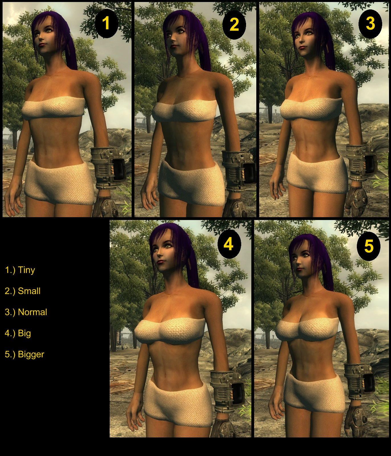 Fallout nude body replacer pornos scenes