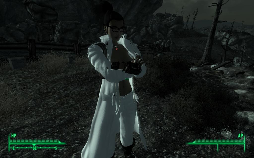 Fallout 3 моды 18 сексуальная одежда и броня