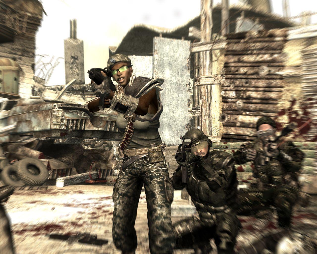 Fallout 3 Mothership Zeta Crew Проблемы С Текстурами