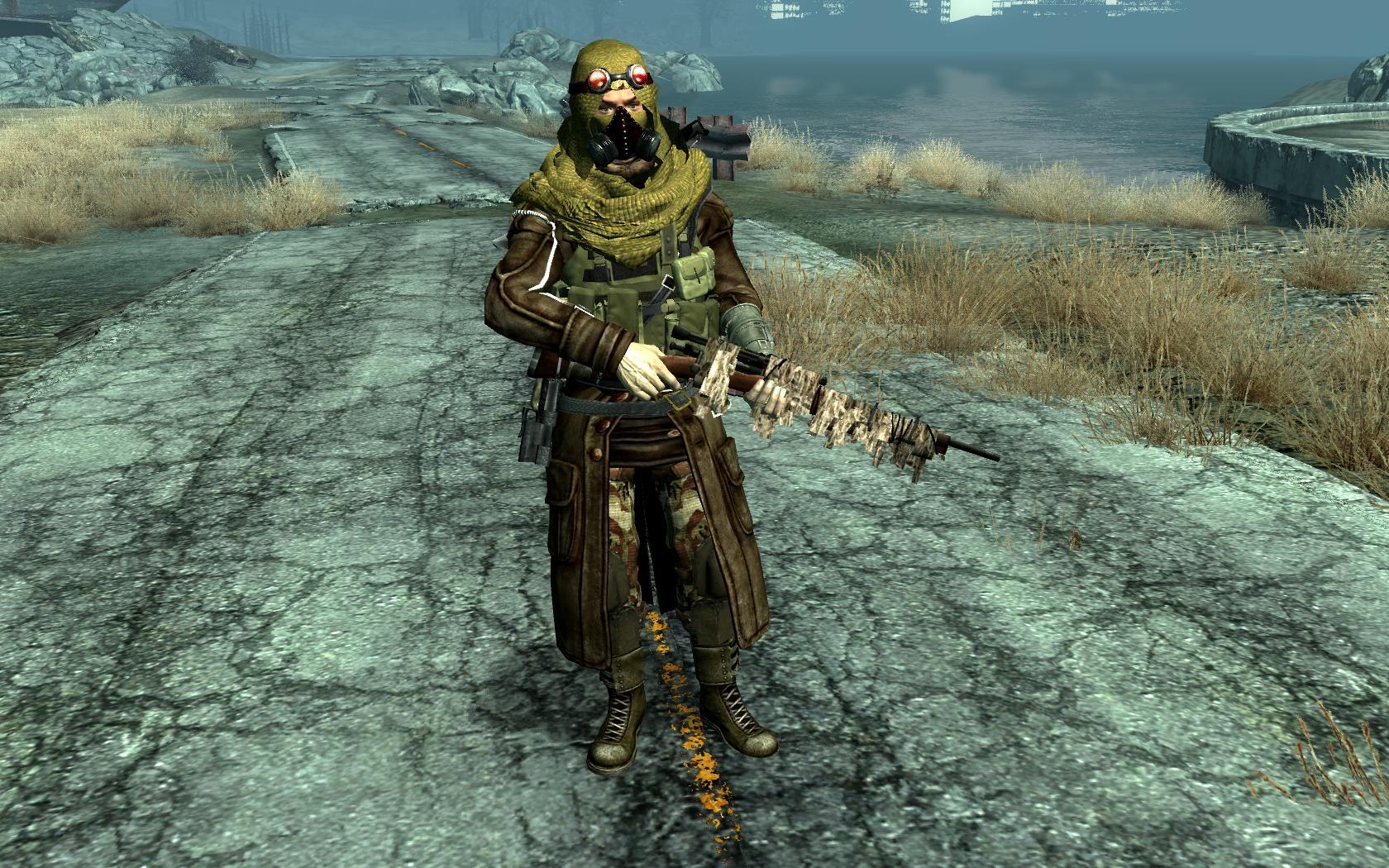 Fallout 3 мод сексуальная силовая броня