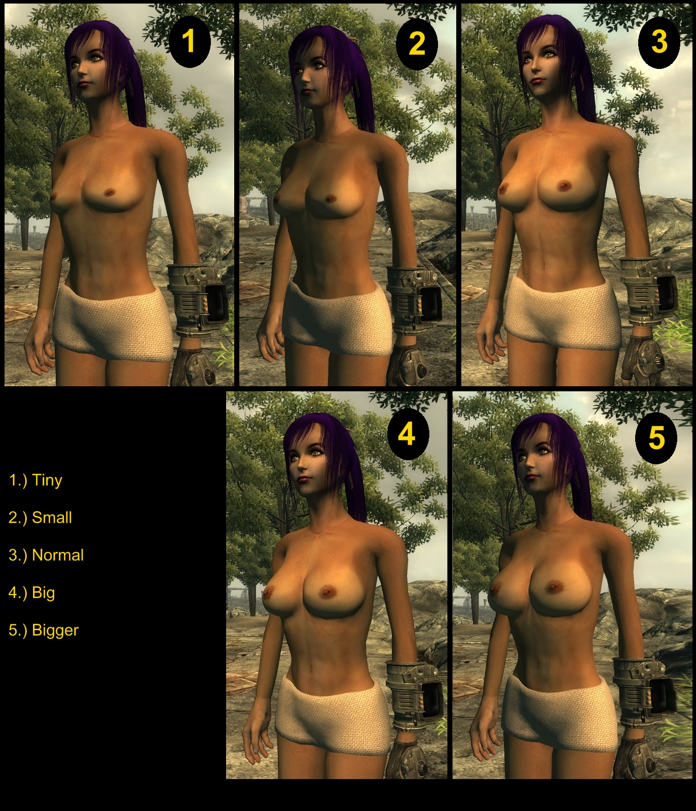 Fallout nude body replacer erotica video