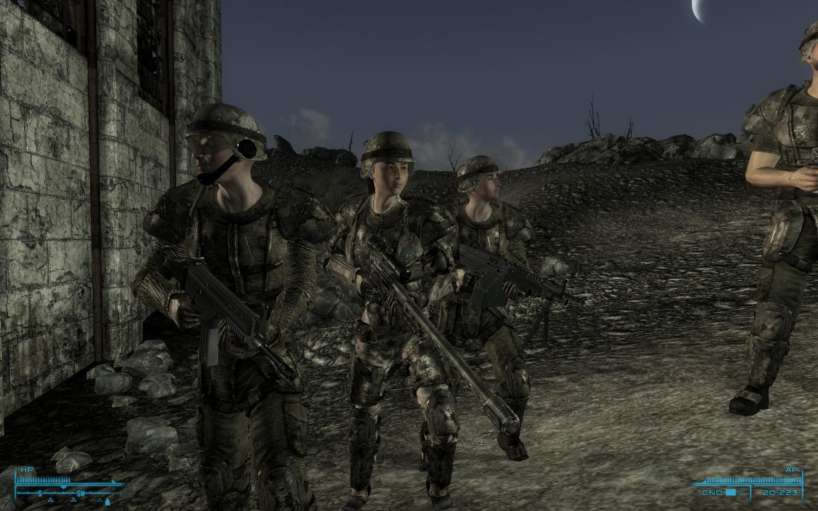 Моды для fallout 3 компаньоны скачать