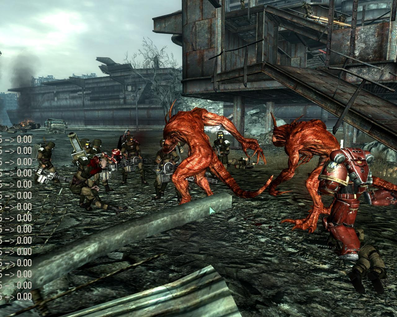 Fallout 3 мод warhammer 40000 commander скачать