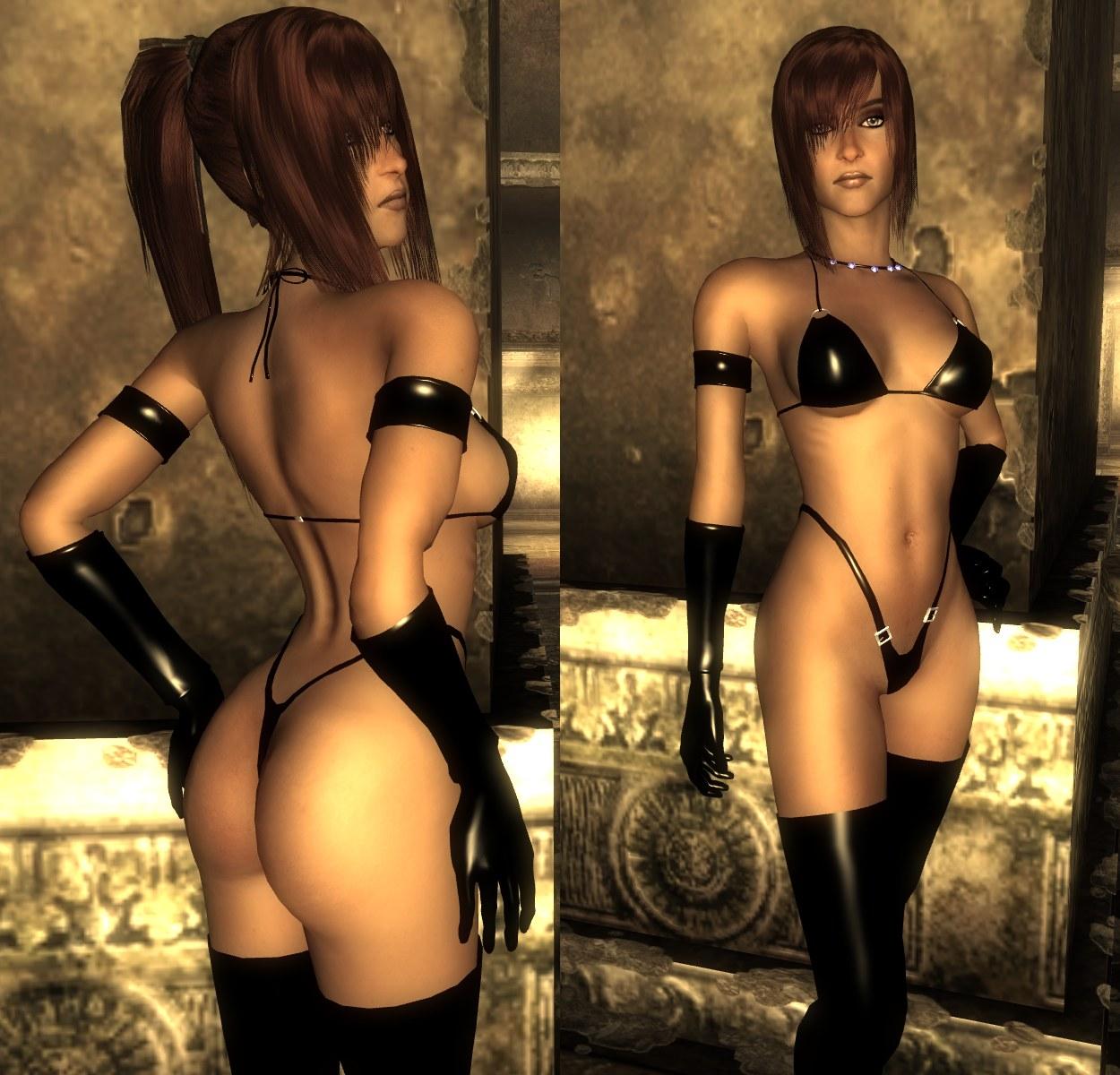 Fallout 3 fetish lingerie mod pornos whores