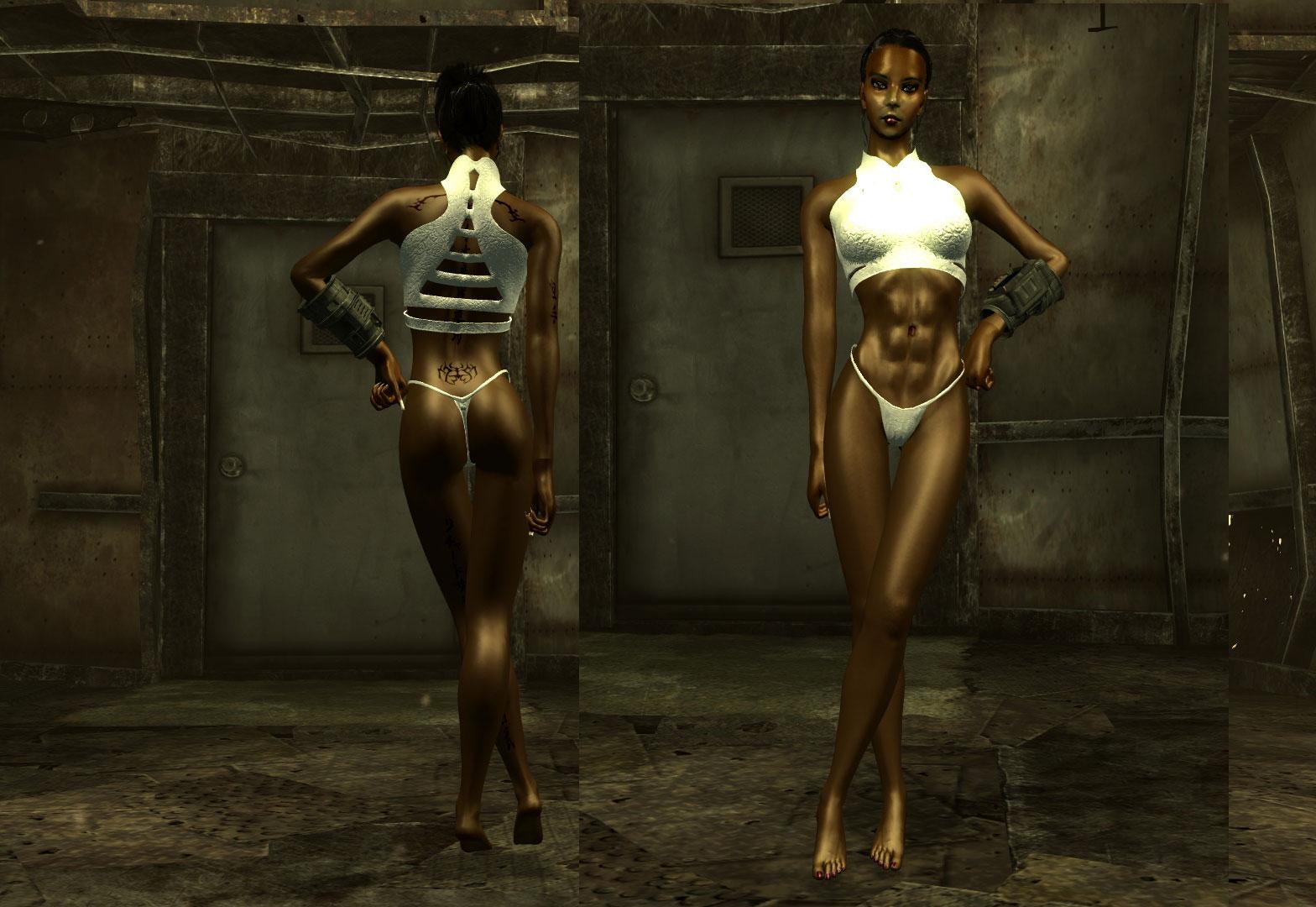 Моды сексуальных женских тел для фаллоута 3