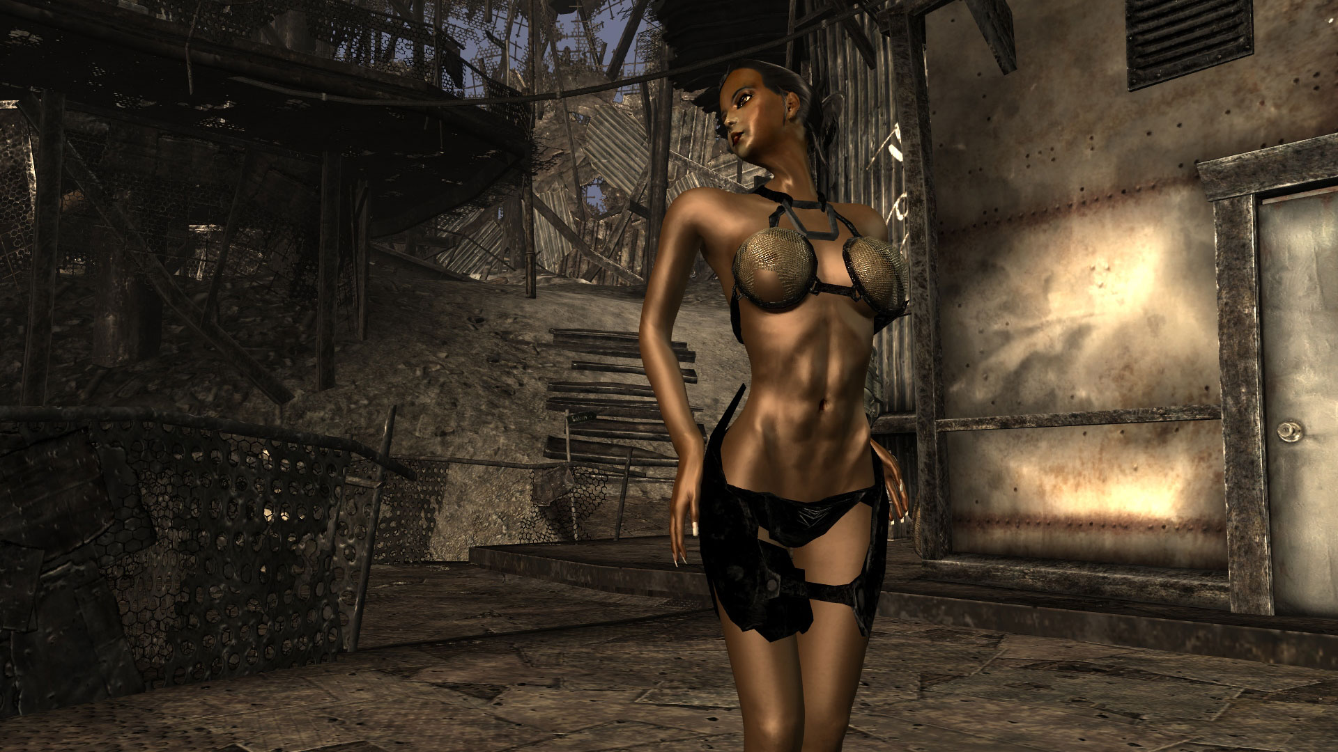 Fallout 3 fetish lingerie mod erotic picture